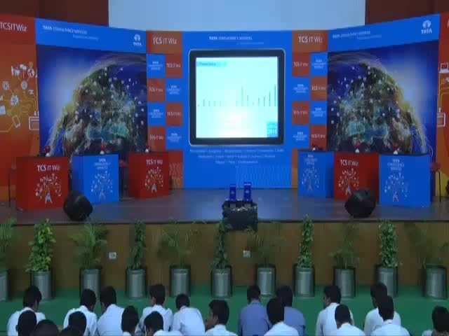 Watch and share TCS IT Wiz 2015 - Lucknow GIFs on Gfycat