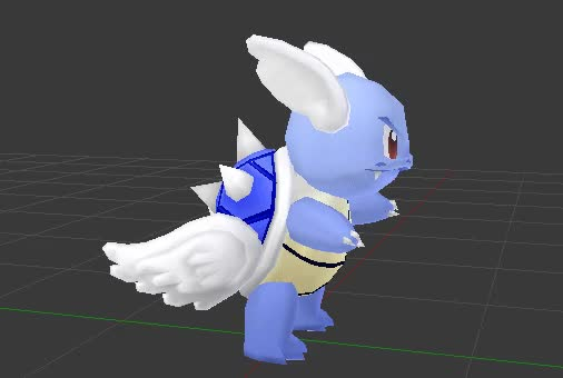 Watch OhiraKyou - Blue Shell Wartortle GIF by OhiraKyou (@ohirakyou) on Gfycat. Discover more 3d, blender, crossover, mario kart, pokemon, wartortle GIFs on Gfycat