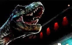 Watch and share Tyrannosaurus Rex GIFs and Jurassic World GIFs on Gfycat