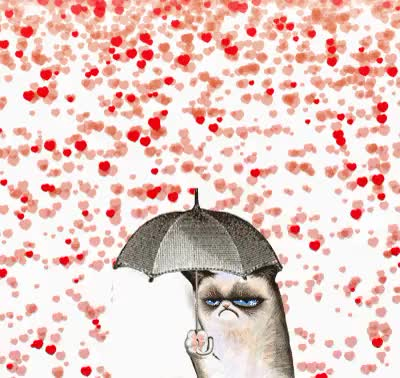 Watch and share Happy Valentines Day GIFs and Grumpy Cat GIFs on Gfycat
