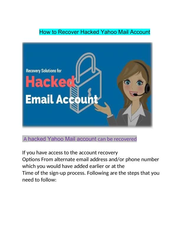 Watch and share How To Recover Hacked Yahoo Mail Account 1844-714-3666 GIFs by Matthew on Gfycat