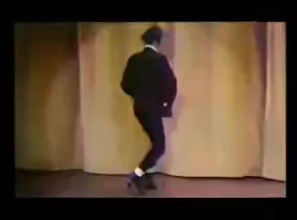 Watch and share Max Wall Funny Walk 1970s GIFs on Gfycat