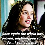 Watch gossip girl gifs GIF on Gfycat. Discover more *, bestof, blair waldorf, ggedit, gossip girl GIFs on Gfycat