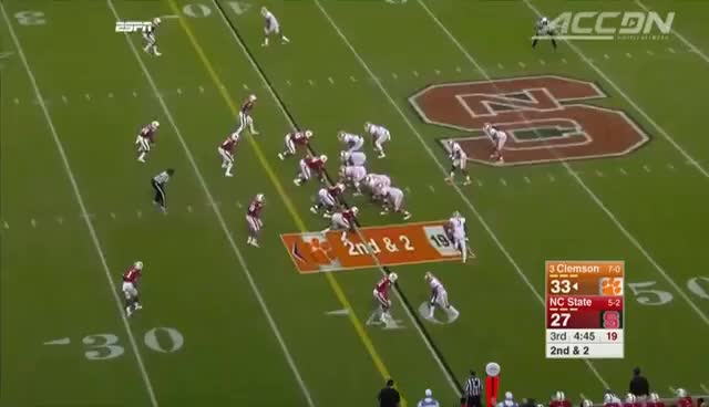 Watch Clemson vs. NC State Football Highlights (2015) GIF on Gfycat. Discover more related GIFs on Gfycat