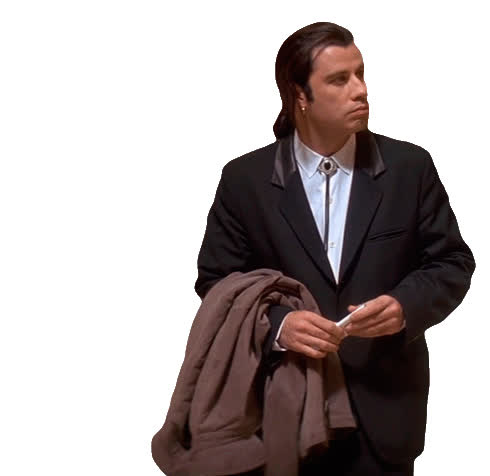 gentleman, interesting, john travolta, lookingfor, meme, memes, pulp fiction, rolling, suprrise, john travolta GIFs