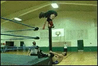 Watch Wrestling backflip GIF on Gfycat. Discover more related GIFs on Gfycat