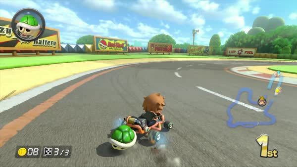 greenshell, mariokart, win, Green Shell for the win GIFs