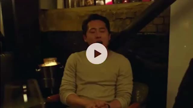 Watch and share Steven Yeun GIFs and Celebs GIFs on Gfycat