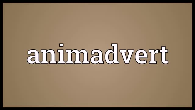 Watch and share Animadvert Meaning GIFs and Audio Dictionary GIFs on Gfycat