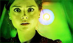 Watch and share Eleventh Doctor GIFs and Jenna Coleman GIFs on Gfycat