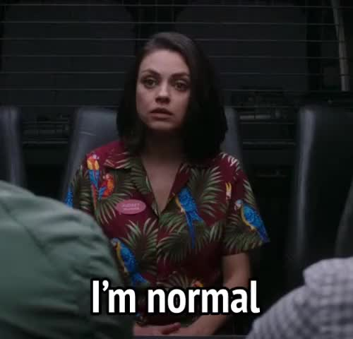 Watch this mila kunis GIF by MikeyMo (@mikeymo) on Gfycat. Discover more i'm not crazy, mila kunis, movies, norm, not crazy, the spy who dumped me GIFs on Gfycat