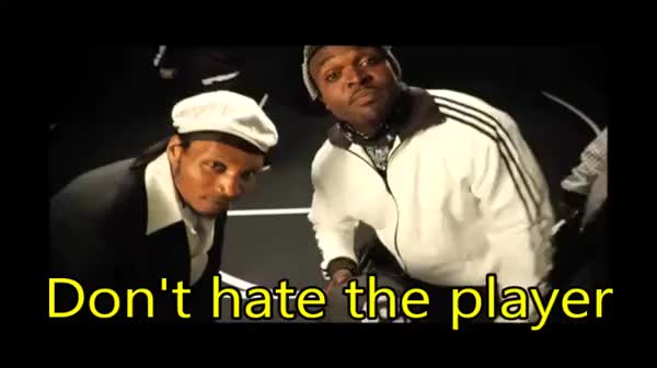 Watch Don't hate the player, hate the game GIF on Gfycat. Discover more reactiongifs GIFs on Gfycat