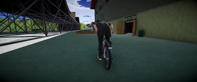Watch and share Bmx Streets GIFs and Pc Gaming GIFs by Nocturnal on Gfycat