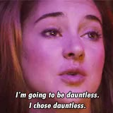 Watch and share Shailene Woodley GIFs and Tris Prior GIFs on Gfycat