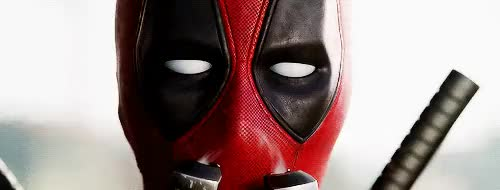 "Watch You may be wondering ""why the red suit?."" Well, that's so th GIF on Gfycat. Discover more deadpool, deadpooledit, marvel, marveledit, my stuff GIFs on Gfycat"