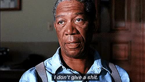 Watch and share Morgan Freeman GIFs and Idgaf GIFs on Gfycat