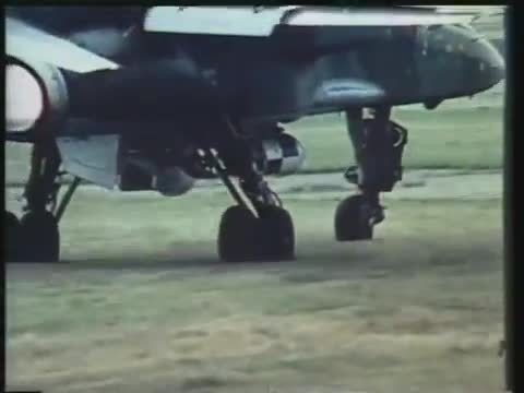 militarygfys, A Jaguar landing on a British highway. (reddit) GIFs
