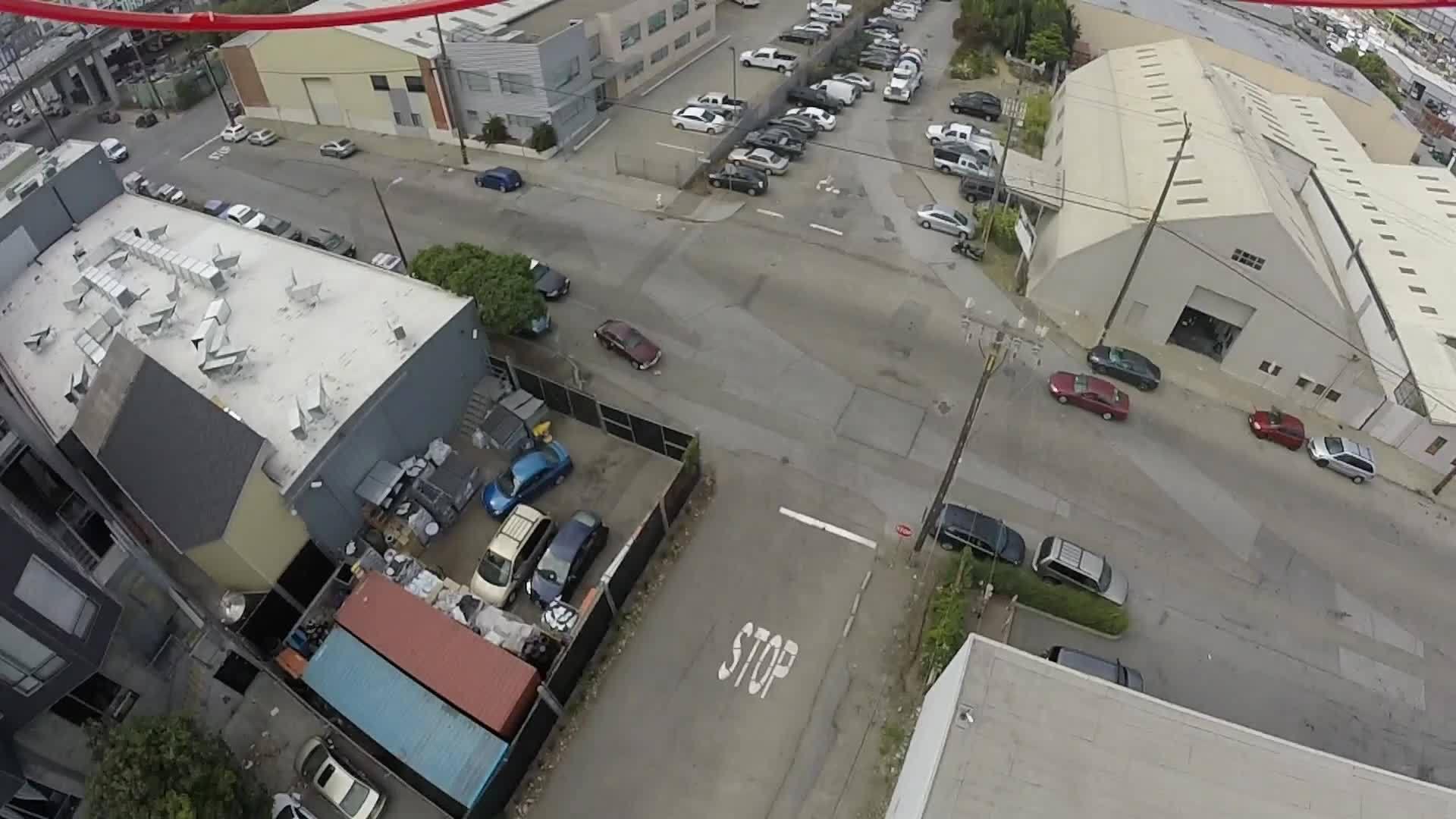 dogpatch, drone, drone footage, drones, san francisco, Drone footage from San Francisco in Dogpatch #8 GIFs