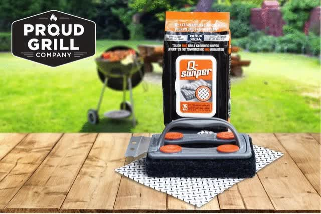 Watch and share Bbq Grate Cleaner GIFs and Grill Scraper GIFs by Proud Grill  Company on Gfycat