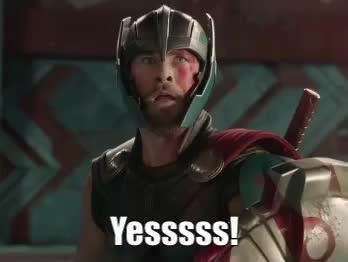 Ragnarok, Thor, Yesssss! GIFs