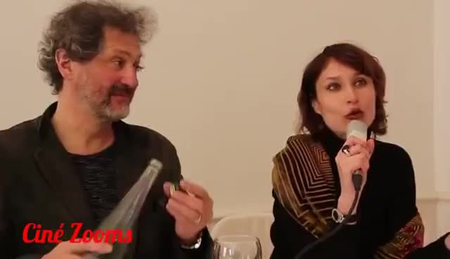 Watch and share CERISE - Interviews : JEROME ENRICO Et IRINA GONTCHAR GIFs on Gfycat