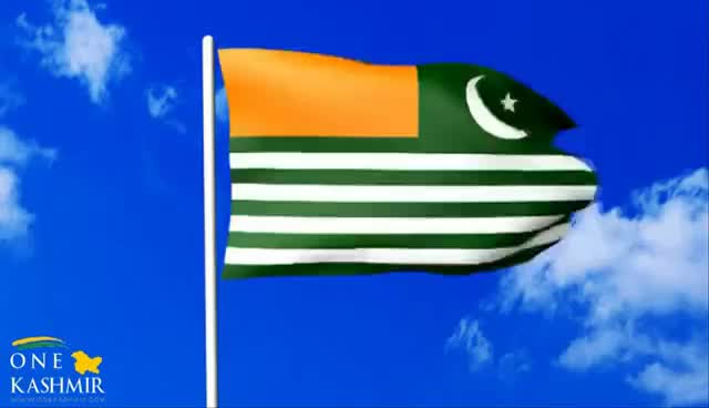 Watch and share Waving Flag Of Kashmir GIFs on Gfycat