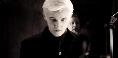 Watch Malfoy GIF on Gfycat. Discover more Harry potter, draco malfoy, gifset GIFs on Gfycat
