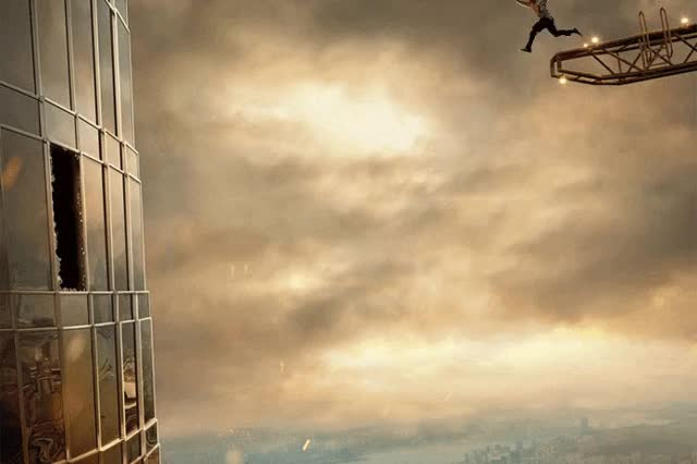Watch People Notice There's Something Wrong With The Rock's New Movie Poster, And Things Escalate Quickly GIF by Ievgen Marchuk (@ievgenmarchuk) on Gfycat. Discover more Skyscraper, jump, rock GIFs on Gfycat