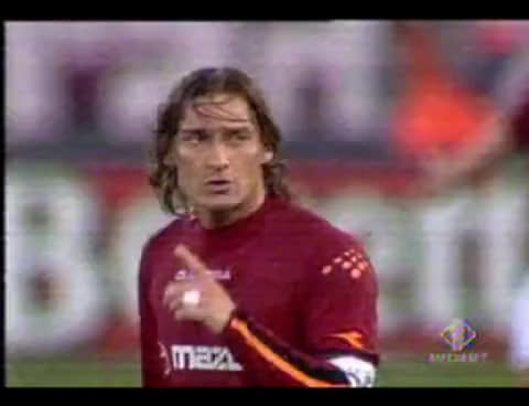 Watch and share ROMA-JUVE 4-0 - Totti A Tudor, Zitto 4 Gol E Torna A Casa GIFs on Gfycat