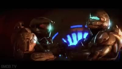 Watch Master Chief vs Spartan Locke GIF on Gfycat. Discover more related GIFs on Gfycat