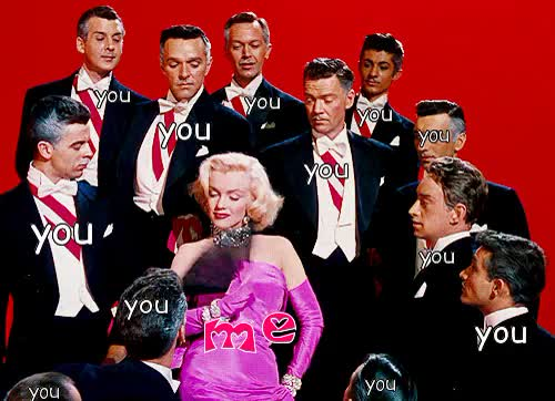 Watch you m GIF on Gfycat. Discover more marilyn monroe GIFs on Gfycat