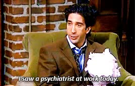 Watch and share David Schwimmer GIFs and Chandler Bing GIFs on Gfycat