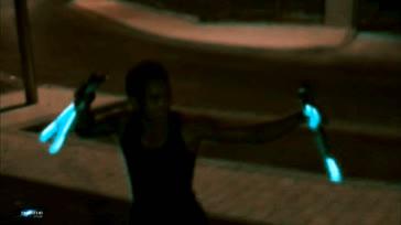 61 Salto-Double Artic Nunchucks Laser - Tony Nguyen SF en mode Bruceli Visionary GIFs