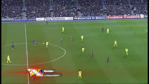 Watch Lionel Messi. Barcelona - Lyon. 11.03.2009 GIF by @fatalali on Gfycat. Discover more related GIFs on Gfycat