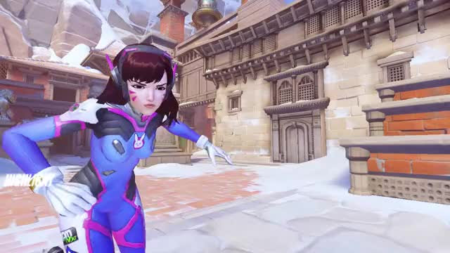 Watch He even solo bladed me! GIF by @frnnne on Gfycat. Discover more highlight, overwatch GIFs on Gfycat