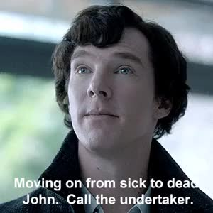 Watch and share Sherlock Season 2 GIFs and Gregory Lestrade GIFs on Gfycat