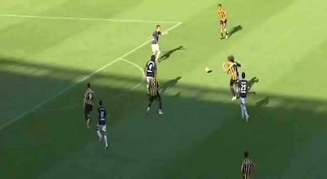 Watch and share Paul Ifill Vs Newcastle Jets GIFs by patrick478 on Gfycat