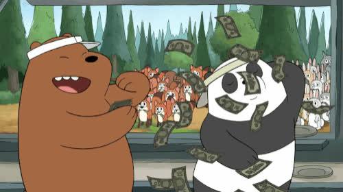 bare bears 2.gif GIFs