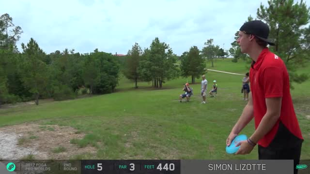 Watch and share 2017 PDGA Pro Worlds - Lizotte Scomahawk Drive - Round 2 Hole 5 GIFs by Ultiworld Disc Golf on Gfycat