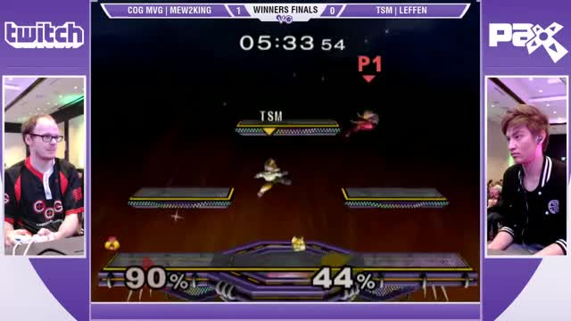 mew2king vs leffen pax prime 2015