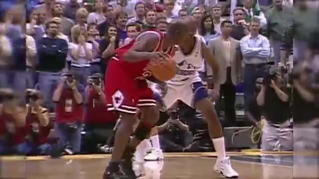 Watch Michael Jordan Last Bull Game Highlights 1998 Finals G6 vs Jazz - 45pts, G.O.A.T.!  (HD 720p 60fps) GIF by @strawberryshortcake on Gfycat. Discover more basketball, michael jordan, national basketball association GIFs on Gfycat