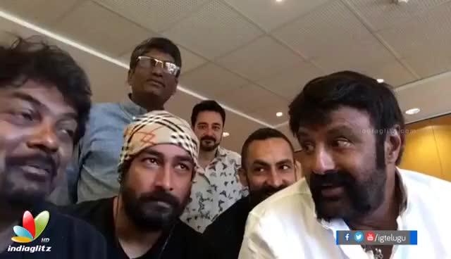 Watch and share See Balakrishna's Reaction To Coca Cola Pepsi Balayya Babu Sexy Dialogue || Puri Jagannadh GIFs on Gfycat