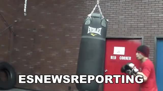 Watch nonito donaire killing the heavybag with power punches and speed EsNews Boxing GIF on Gfycat. Discover more elie seckbach, esnews, sports GIFs on Gfycat