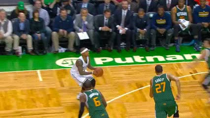 Watch and share Isaiah Thomas — Boston Celtics GIFs by Off-Hand on Gfycat