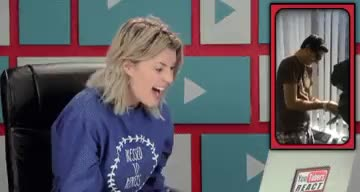 Watch YouTubers React to Colorblind Man Sees Purple for the First  GIF on Gfycat. Discover more grace helbig, helbig, react to, youtube, youtuber, youtubers react to GIFs on Gfycat