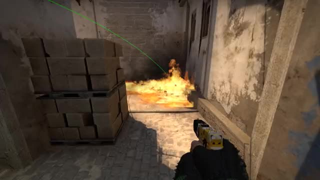 Watch and share Csgo Mirage Molotov Short From Mid GIFs by CSGOGrenadies on Gfycat