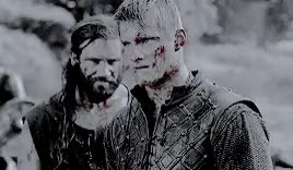 Watch and share Alexander Ludwig GIFs and Bjorn Ironside GIFs on Gfycat