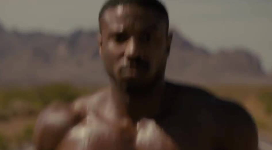 b, come, coming, creed, focus, goal, hunk, jog, jogging, jordan, mgm, michael, my, on, out, run, running, trailer, way, work, CREED II | Official Trailer 2 | MGM GIFs