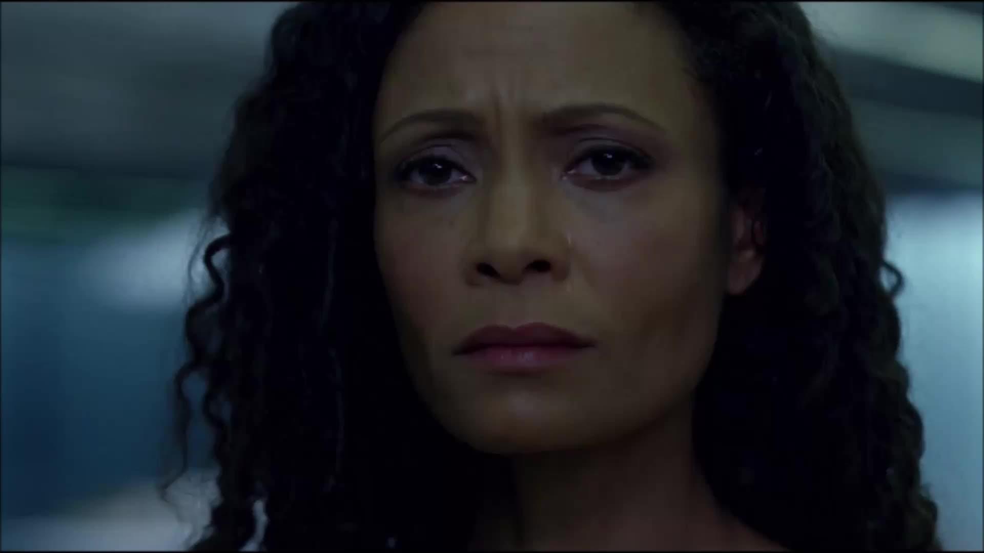 Thandie Newton, westworld, westworldseason1ep7, wws1ep7, Westworld season 1 ep7 GIFs