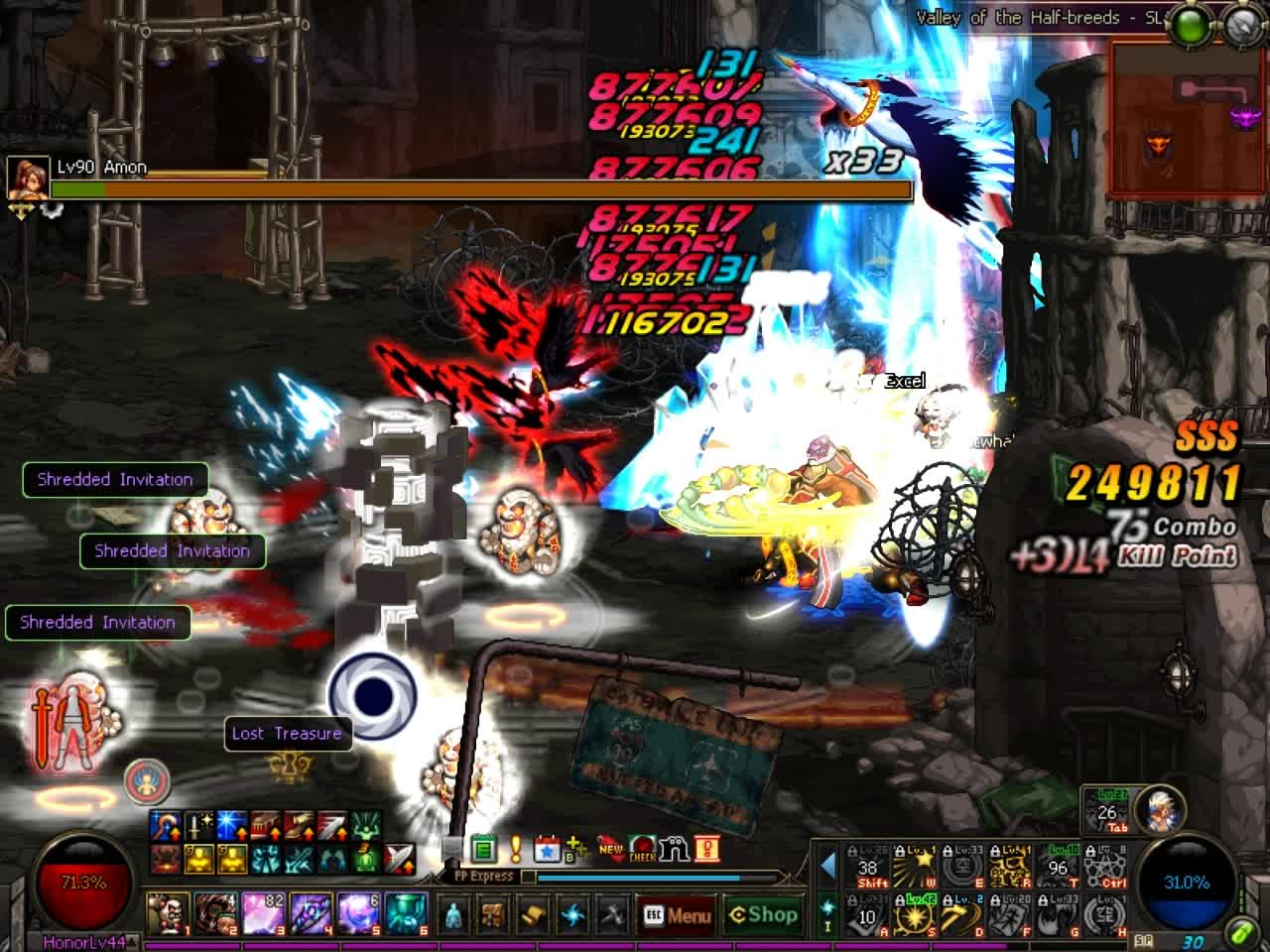 60fps, DFO, mmorpg, DFO Hell Mode Vol.Rainbow Edtion GIFs